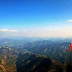 Flugwegposition um 14:58:55: Aufgenommen in der Nähe von Gemeinde Übelbach, Österreich in 1448 Meter