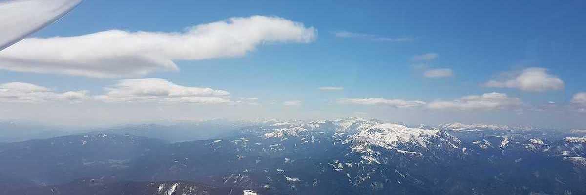 Flugwegposition um 11:46:25: Aufgenommen in der Nähe von Gemeinde Neuberg an der Mürz, 8692, Österreich in 2096 Meter