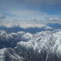 Flugwegposition um 10:55:09: Aufgenommen in der Nähe von Gemeinde Lesachtal, Österreich in 3418 Meter