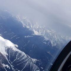 Flugwegposition um 15:01:30: Aufgenommen in der Nähe von 39030 Gsies, Bozen, Italien in 3620 Meter