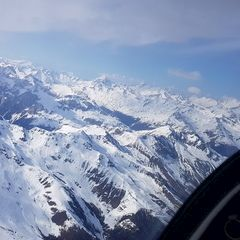 Flugwegposition um 15:01:45: Aufgenommen in der Nähe von 39030 Gsies, Bozen, Italien in 3606 Meter