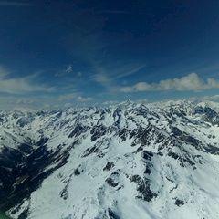 Flugwegposition um 12:38:16: Aufgenommen in der Nähe von Gemeinde Winklern, Österreich in 3245 Meter