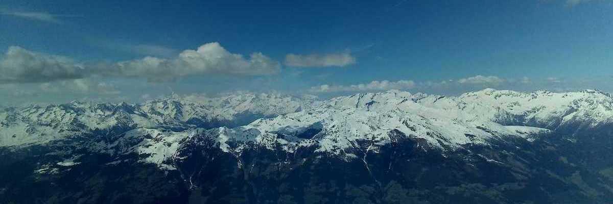 Flugwegposition um 12:27:03: Aufgenommen in der Nähe von Gemeinde Rangersdorf, 9833, Österreich in 3138 Meter