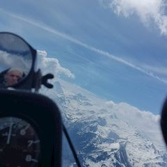 Verortung via Georeferenzierung der Kamera: Aufgenommen in der Nähe von Gemeinde Piesendorf, 5721 Piesendorf, Österreich in 2600 Meter
