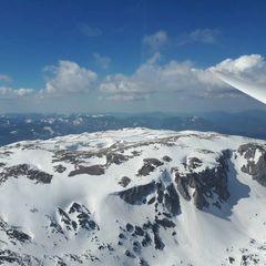 Flugwegposition um 13:16:40: Aufgenommen in der Nähe von Gemeinde Reichenau an der Rax, Österreich in 2008 Meter