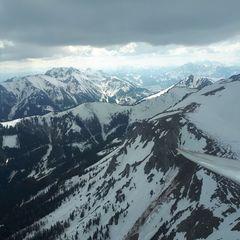 Flugwegposition um 14:07:04: Aufgenommen in der Nähe von Hafning bei Trofaiach, Österreich in 2060 Meter