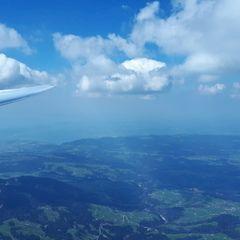 Flugwegposition um 12:33:44: Aufgenommen in der Nähe von Gemeinde Egg, Österreich in 2681 Meter