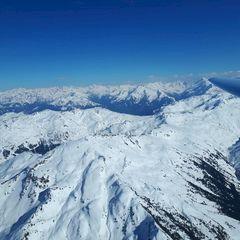 Flugwegposition um 14:58:36: Aufgenommen in der Nähe von Gemeinde Weerberg, 6133, Österreich in 3016 Meter