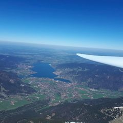 Flugwegposition um 10:26:01: Aufgenommen in der Nähe von Miesbach, Deutschland in 2471 Meter