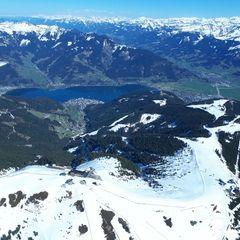 Flugwegposition um 13:53:17: Aufgenommen in der Nähe von Gemeinde Viehhofen, Österreich in 2369 Meter
