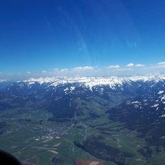 Flugwegposition um 12:26:28: Aufgenommen in der Nähe von Tauplitz, 8982 Tauplitz, Österreich in 2661 Meter