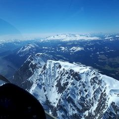Flugwegposition um 12:27:23: Aufgenommen in der Nähe von Pürgg-Trautenfels, Österreich in 2582 Meter