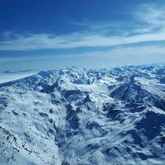 Flugwegposition um 14:20:36: Aufgenommen in der Nähe von Gemeinde Ried im Zillertal, Österreich in 2719 Meter