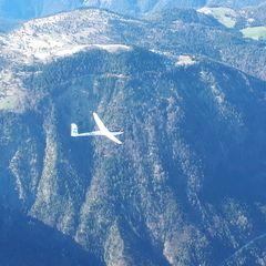 Flugwegposition um 15:08:00: Aufgenommen in der Nähe von Gemeinde Kramsach, Kramsach, Österreich in 2168 Meter