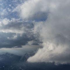 Flugwegposition um 16:29:53: Aufgenommen in der Nähe von Eisenerz, Österreich in 3089 Meter
