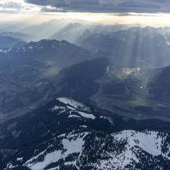 Flugwegposition um 16:52:53: Aufgenommen in der Nähe von Gaishorn am See, Österreich in 3055 Meter