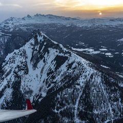 Flugwegposition um 17:49:51: Aufgenommen in der Nähe von Gemeinde Haus, Österreich in 2164 Meter