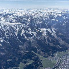 Flugwegposition um 11:11:52: Aufgenommen in der Nähe von Johnsbach, 8912 Johnsbach, Österreich in 3100 Meter