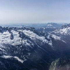 Flugwegposition um 13:55:42: Aufgenommen in der Nähe von Gemeinde Weißbach bei Lofer, 5093, Österreich in 2671 Meter