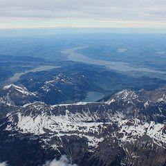 Flugwegposition um 13:56:44: Aufgenommen in der Nähe von Gemeinde Schruns, 6780, Österreich in 5249 Meter