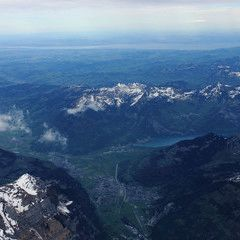 Flugwegposition um 14:02:23: Aufgenommen in der Nähe von Gemeinde St. Anton am Arlberg, 6580 St. Anton am Arlberg, Österreich in 4513 Meter