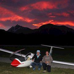 Flugwegposition um 18:44:32: Aufgenommen in der Nähe von Niederöblarn, 8960, Österreich in 642 Meter