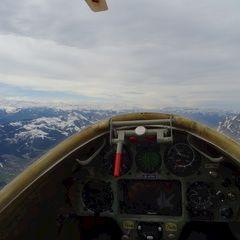 Flugwegposition um 09:14:53: Aufgenommen in der Nähe von Gemeinde Werfenweng, 5453, Österreich in 2214 Meter