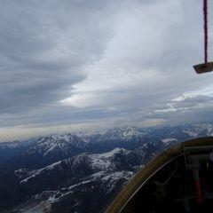 Flugwegposition um 15:36:16: Aufgenommen in der Nähe von Gemeinde Wildermieming, Österreich in 2899 Meter