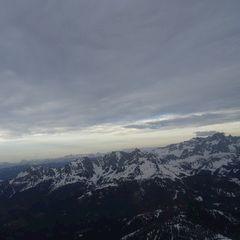 Flugwegposition um 16:14:47: Aufgenommen in der Nähe von Gemeinde Breitenbach am Inn, Österreich in 2854 Meter