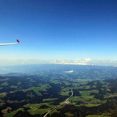 Flugwegposition um 08:50:41: Aufgenommen in der Nähe von Gemeinde Preitenegg, Preitenegg, Österreich in 2056 Meter