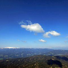 Flugwegposition um 08:07:23: Aufgenommen in der Nähe von Stainz, Österreich in 2028 Meter