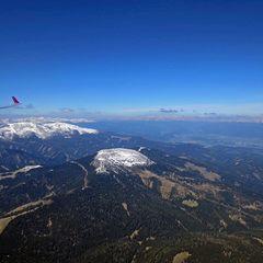 Flugwegposition um 09:31:53: Aufgenommen in der Nähe von Salla, Österreich in 2118 Meter