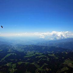 Flugwegposition um 10:32:15: Aufgenommen in der Nähe von Gemeinde Wolfsberg, Wolfsberg, Österreich in 2488 Meter