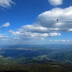 Flugwegposition um 14:44:18: Aufgenommen in der Nähe von Gemeinde Lannach, Österreich in 1029 Meter