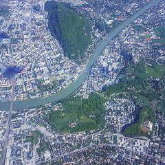 Flugwegposition um 12:48:16: Aufgenommen in der Nähe von Salzburg, Österreich in 2704 Meter