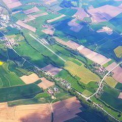 Flugwegposition um 13:09:28: Aufgenommen in der Nähe von Gemeinde Polling im Innkreis, Österreich in 1849 Meter