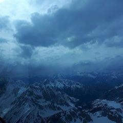 Flugwegposition um 14:48:10: Aufgenommen in der Nähe von Gemeinde Thaur, Thaur, Österreich in 2887 Meter