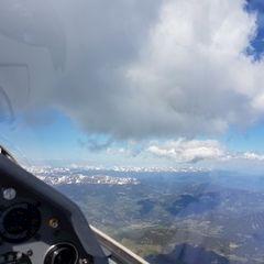 Flugwegposition um 13:41:52: Aufgenommen in der Nähe von Stolzalpe, Österreich in 3234 Meter
