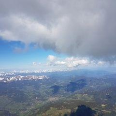 Flugwegposition um 13:42:23: Aufgenommen in der Nähe von Rinegg, Österreich in 3328 Meter
