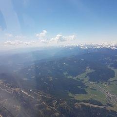 Flugwegposition um 11:17:40: Aufgenommen in der Nähe von Zeutschach, 8820, Österreich in 2885 Meter
