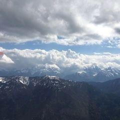 Verortung via Georeferenzierung der Kamera: Aufgenommen in der Nähe von Gemeinde Irschen, Österreich in 2800 Meter