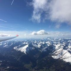 Verortung via Georeferenzierung der Kamera: Aufgenommen in der Nähe von Ranten, 8853, Österreich in 3900 Meter
