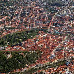 Flugwegposition um 11:38:54: Aufgenommen in der Nähe von Gemeinde Stattegg, Österreich in 1637 Meter