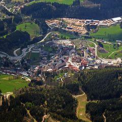 Flugwegposition um 13:07:07: Aufgenommen in der Nähe von Gemeinde Mitterbach am Erlaufsee, Österreich in 2292 Meter