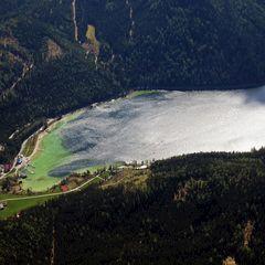 Flugwegposition um 13:09:31: Aufgenommen in der Nähe von Gaming, Österreich in 2171 Meter