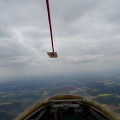 Flugwegposition um 11:27:54: Aufgenommen in der Nähe von Eichstätt, Deutschland in 1493 Meter