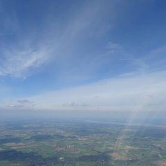 Verortung via Georeferenzierung der Kamera: Aufgenommen in der Nähe von Landsberg am Lech, Deutschland in 1900 Meter