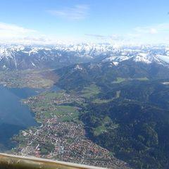 Flugwegposition um 15:13:09: Aufgenommen in der Nähe von Miesbach, Deutschland in 2030 Meter