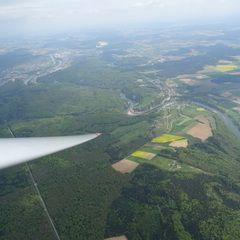 Verortung via Georeferenzierung der Kamera: Aufgenommen in der Nähe von Kelheim, Deutschland in 1700 Meter