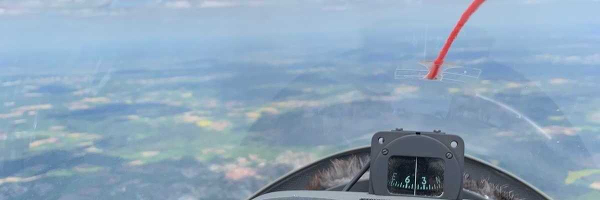 Verortung via Georeferenzierung der Kamera: Aufgenommen in der Nähe von Heidenheim, Deutschland in 2200 Meter